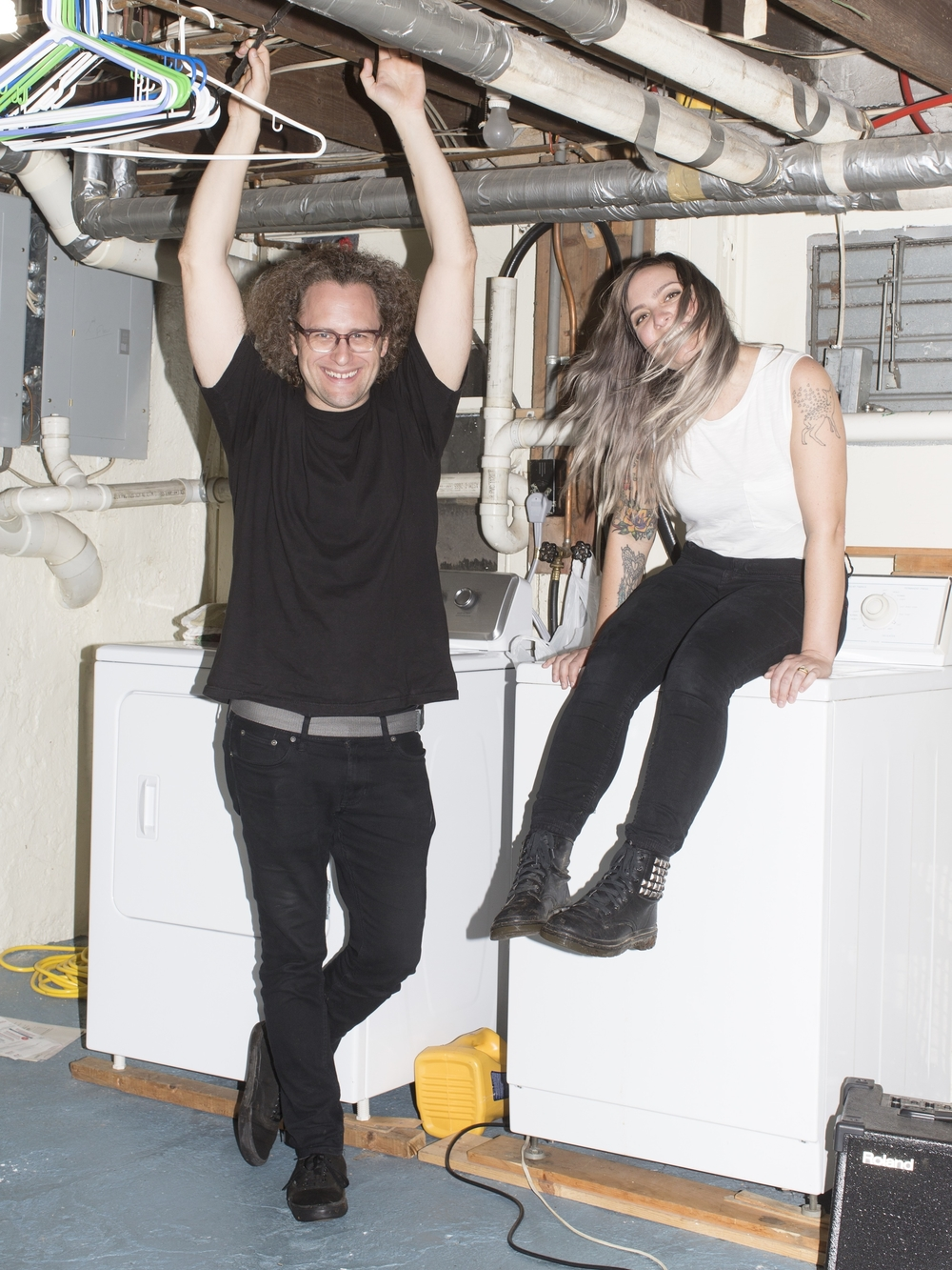 "Bethlehem-based rock duo Slingshot Dakota has been named one of Rolling Stone magazine's ""10 New Artists You Need to Know."" (Courtesy Photo)"