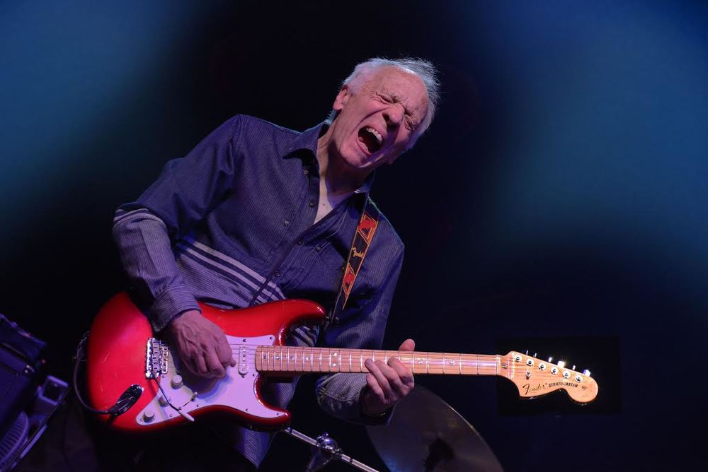Guitarist Robin Trower performs in concert. The former Procol Harum member is touring in support of a new album, 'Where Are You Going To.' (Courtesy Photo)