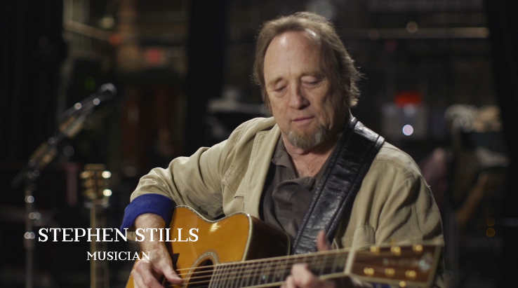 "Musician Stephen Stills is featured in the Martin Guitar documentary, ""The Ballad of the Dreadnought."" (Courtesy Photo)"