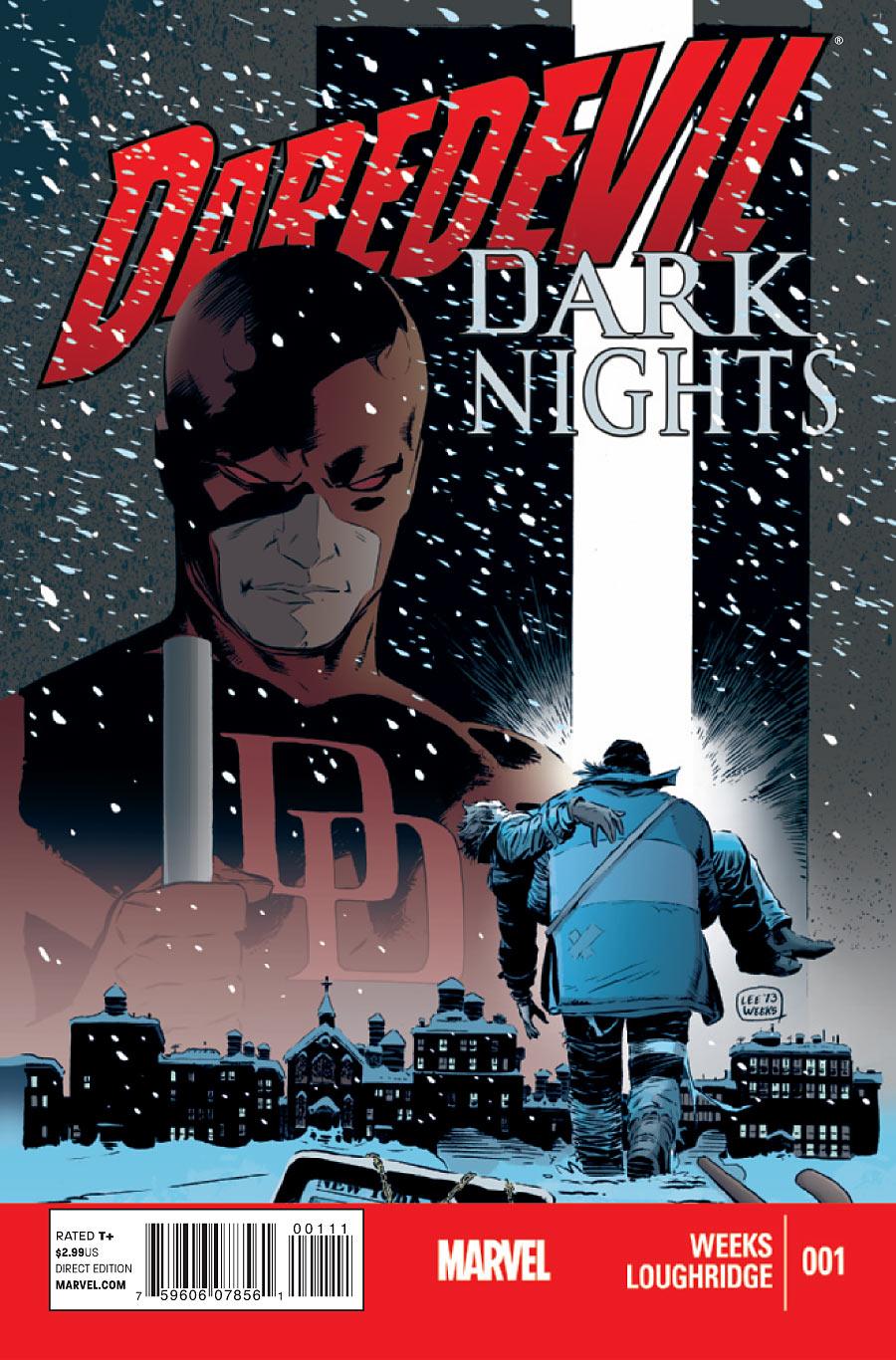 """Daredevil: Dark Nights"" No. 1, by Lee Weeks and Lee Loughridge.  (Marvel Comics Photo)"