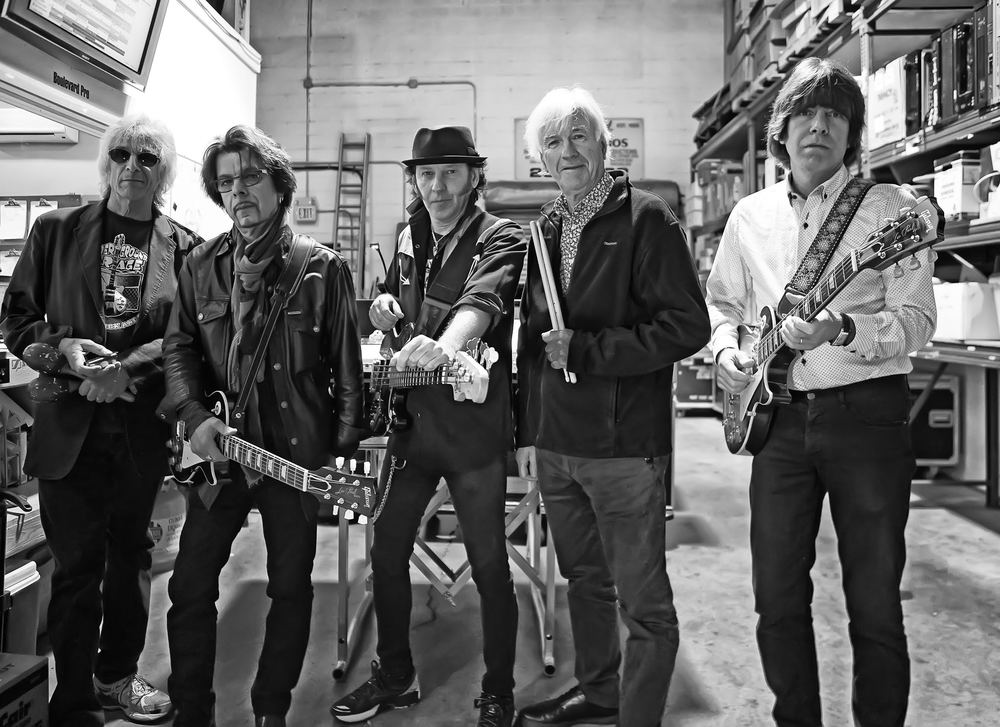 Rock and Roll Hall of Fame group The Yardbirds will perform Oct. 6 at Musikfest Cafe in Bethlehem. (Courtesy Photo)