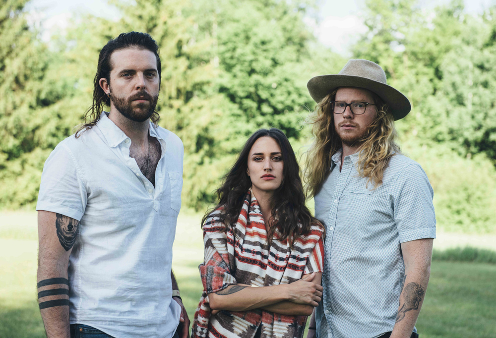Folk-rock trio The Ballroom Thieves perform July 15 at the ArtsQuest Center at SteelStacks in Bethlehem.  (Lauryn Sophia Photography)