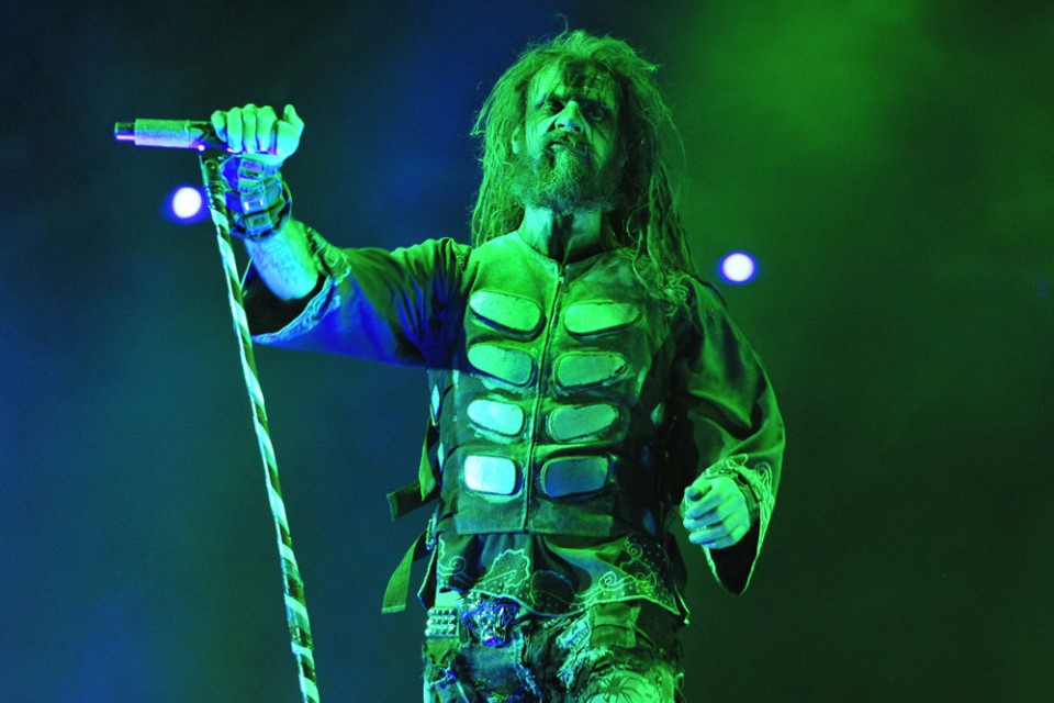 Heavy-metal singer Rob Zombie will return Sept. 15 to the Sands Bethlehem Event Center in Bethlehem.  (Christopher Post Photo | LEHIGHVALLEYLIVE.COM)
