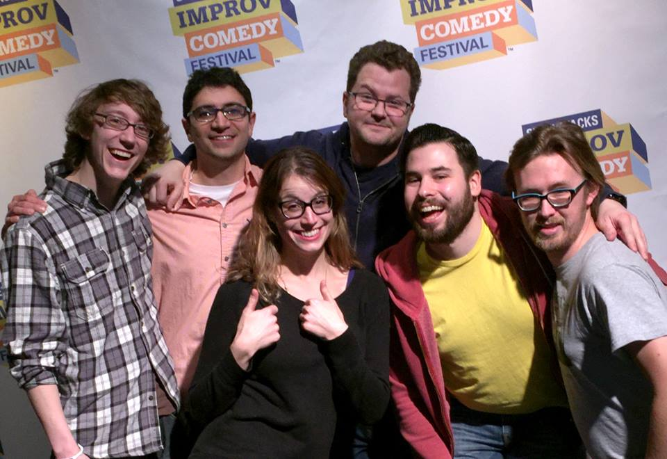 "Improv troupe Cranks & Pulleys will perform tonight during the ""Bar Brawl"" fundraiser at the Allentown Brew Works.  (Lisa Kaplan Photo)"