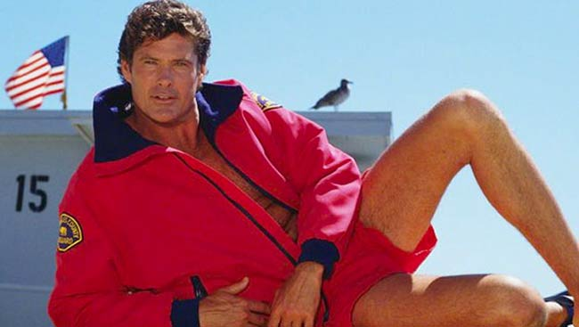 "Fans of actor David Hasselhoff, pictured, will have the opportunity to compete in the inaugural ""Hasselhoff-Off Competition"" during Oktoberfest at SteelStacks. (The Baywatch Company Photo)"