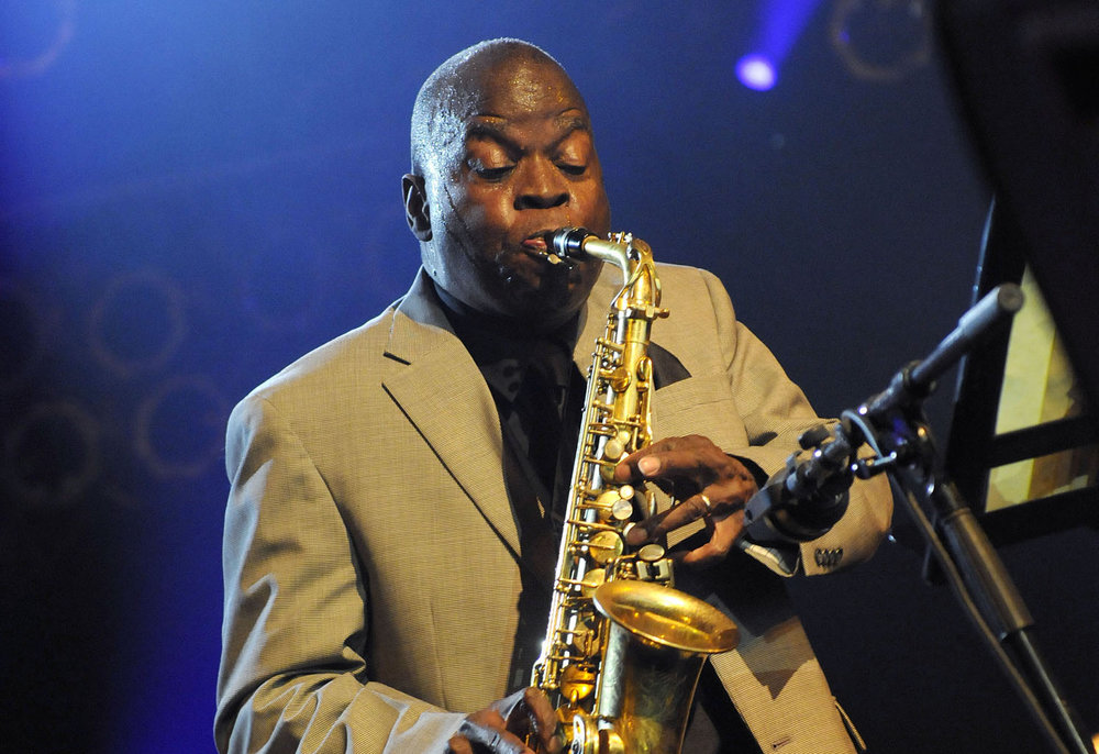 Saxophonist Maceo Parker, best known for his work with Prince and James Brown, performs tonight at Musikfest Cafe in Bethlehem. (Courtesy Photo)