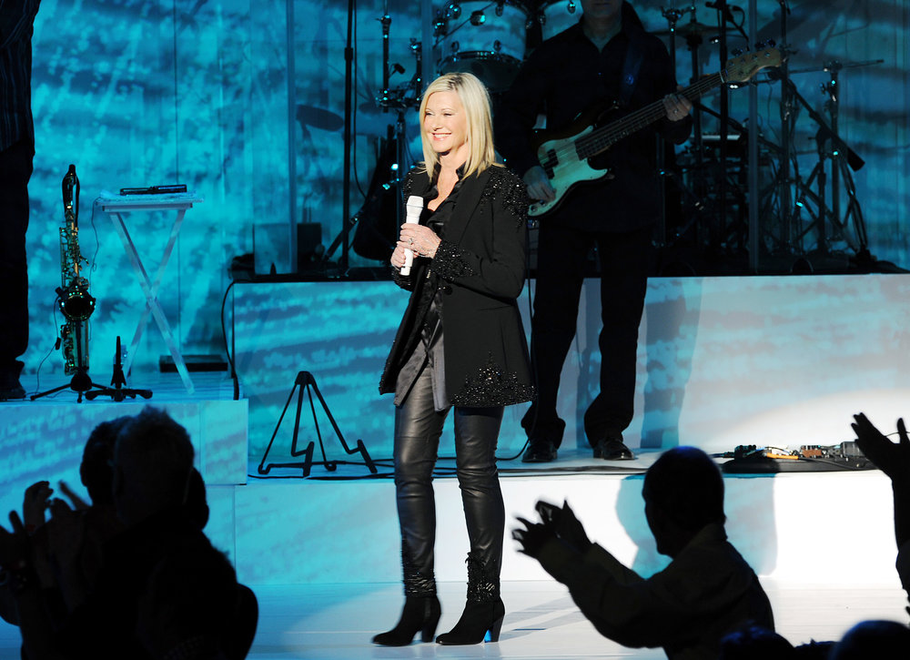 Singer-actress Olivia Newton-John will return April 13 to the State Theatre in Easton.  (Courtesy Photo)