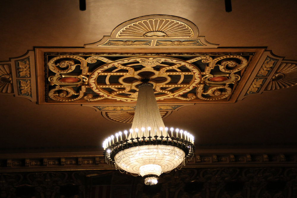 "The State Theatre is looking to replace its current incandescent light bulbs with LED bulbs and a dimmer switch as part of its ""Bright Future"" year-end fundraiser campaign. (Courtesy Photo)"
