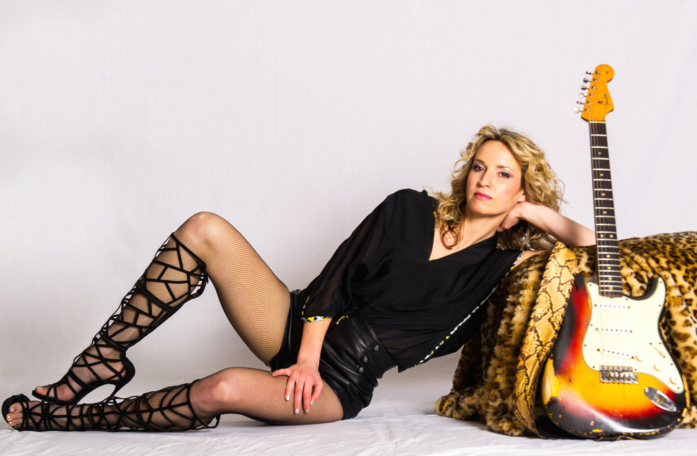Guitarist Ana Popovic will perform March 26 at Musikfest Cafe in Bethlehem.  (Courtesy Photo)