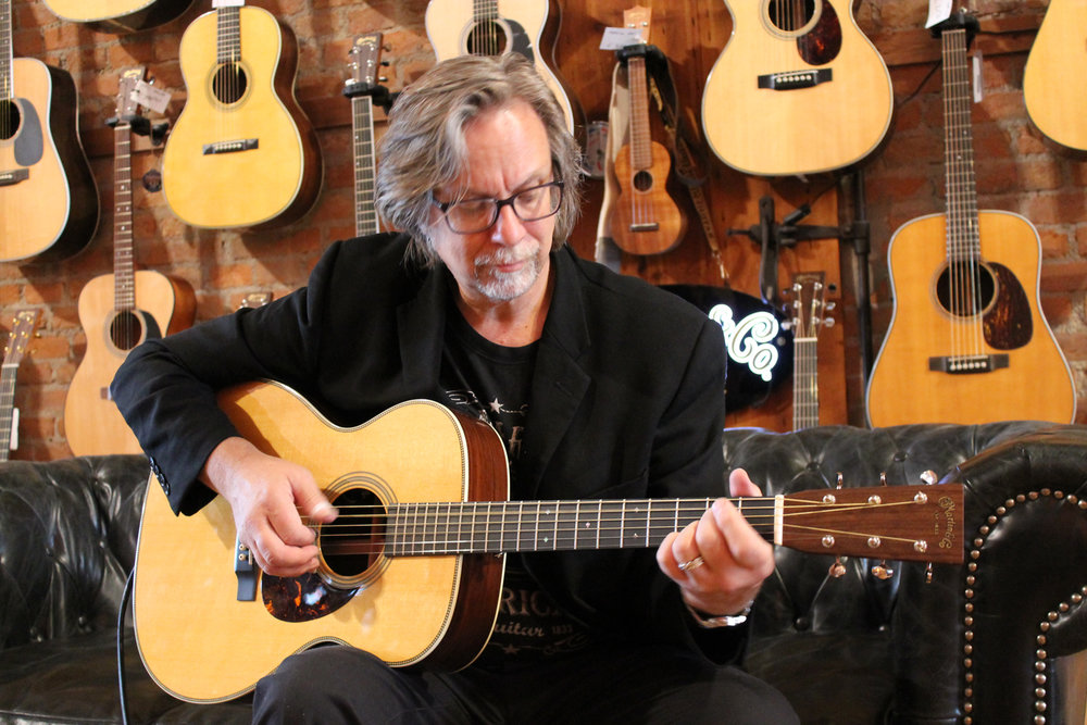 "Guitarist Craig Thatcher, of Coppersburg, will bring his ""Eric Clapton Retrospective"" to the State Theatre in January.  (Courtesy Photo)"