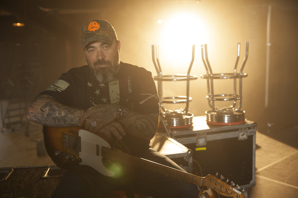 Singer and Staind front-man Aaron Lewis will perform solo May 26 at the Sands Bethlehem Event Center in Bethlehem.  (Courtesy Photo)