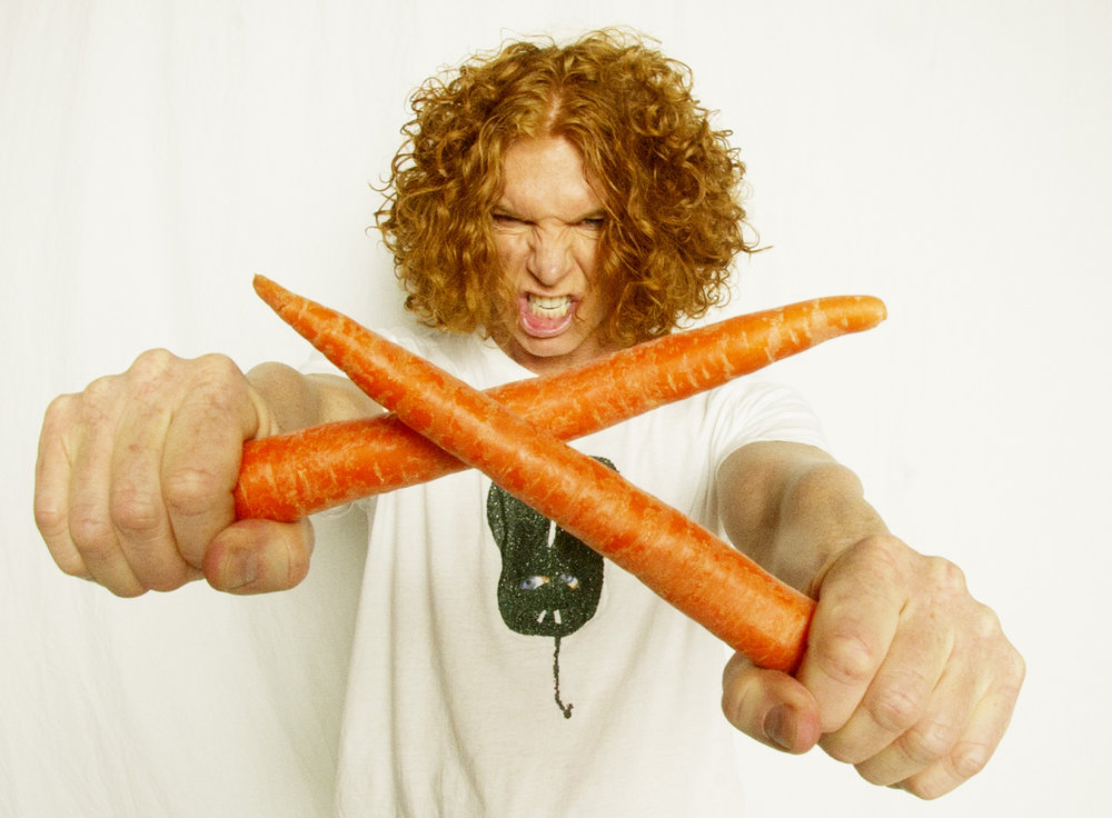 Comedian Carrot Top returns Sunday to the State Theatre in Easton.  (Courtesy Photo)