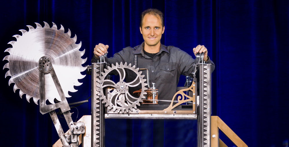 "Illusionist David Caserta, pictured, will perform his signature ""Cutting"" illusion tonight on ""Penn and Teller: Fool Us."" (Courtesy Photo)"