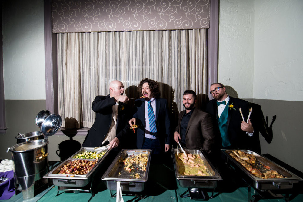 Improv comedy troupe ManDudeBro will perform their final show Dec. 29 at SteelStacks in Bethlehem.  (Courtesy Photo)