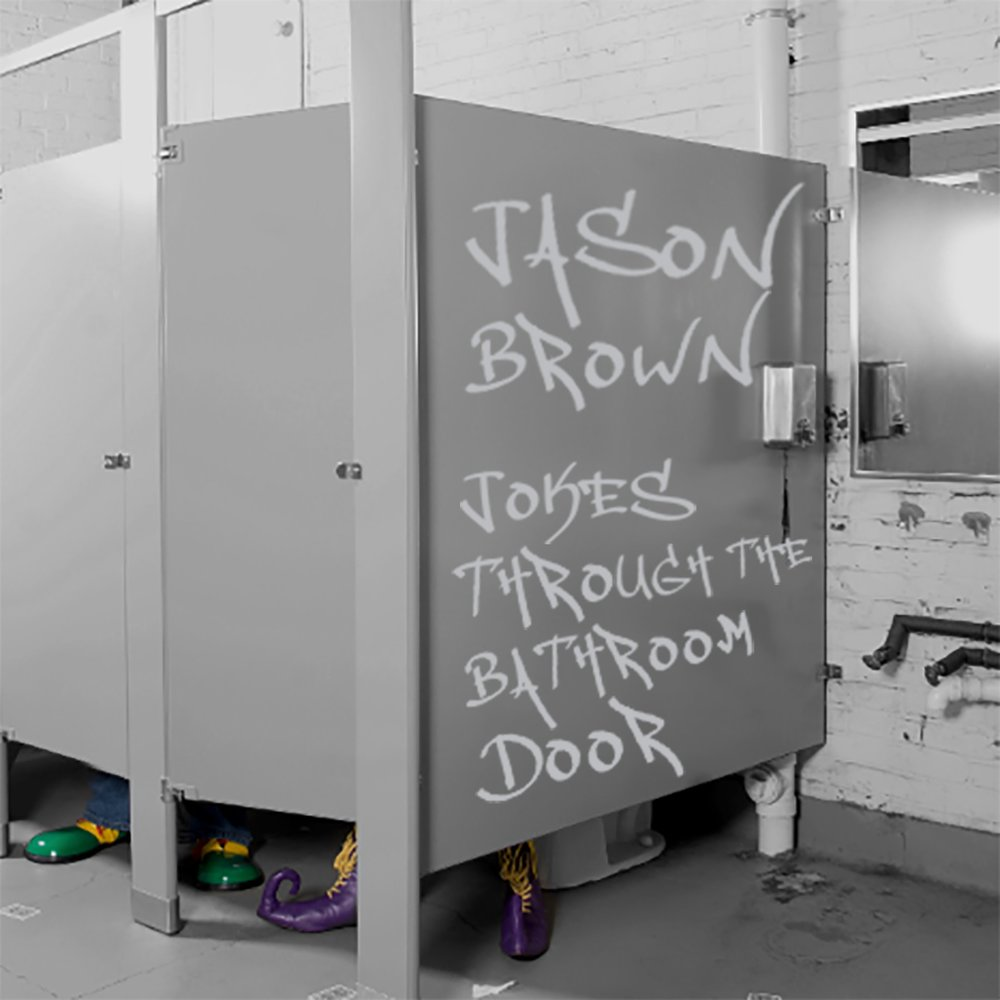 """Jokes Through the Bathroom Door"" is the debut comedy album from Bethlehem-based Jason J. Brown.  (Courtesy Photo)"