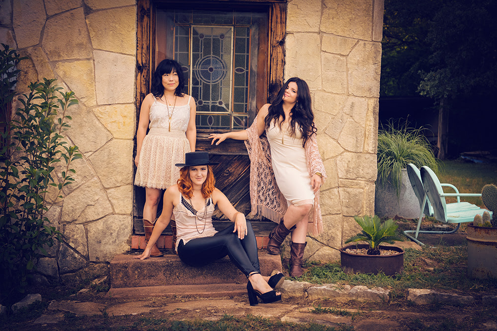 Country-folk trio Nobody's Girl will bring their 'Sirens of South Austin Tour' to the Nazareth Center for the Arts.  (Photo credit: Nicola Gell)