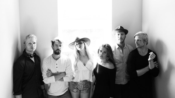 Folk rock band Delta Rae performs tonight at Musikfest Cafe in Bethlehem.  (Courtesy Photo)