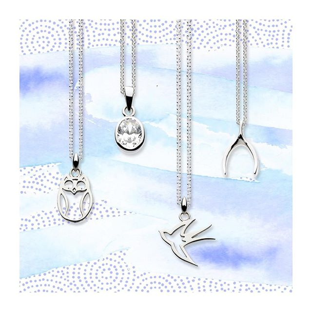 Celebrate the little things with our miniature charm necklaces! #owl #bird #wishbone #celebration #littlethings #minicharms #katienickelle