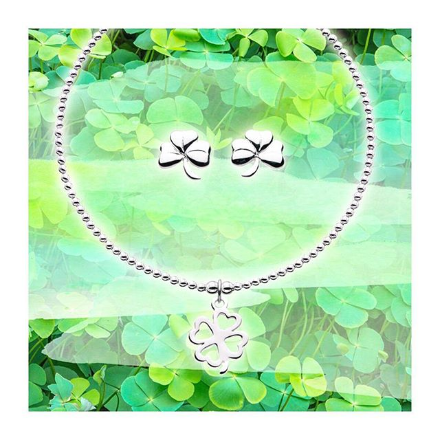 Let us shamrock your world with some pretty new silver! #luckoftheirish #fourleafclover #stpatricksday #getlucky #luckycharms #katienickelle