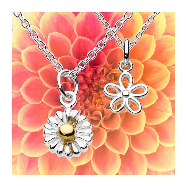 We see a Springtime full of dainty daisy necklaces! #daisynecklace #minis #dainty #Spring #flowers #flowersforme #katienickelle