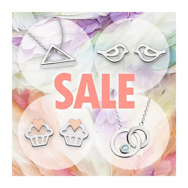 20% off SALE on select items through the end of the week! Link in bio... #katienickellejewellery #sterlingsilver #ilovecupcakes #putabirdonit #dontbeasquare #bluetopaz