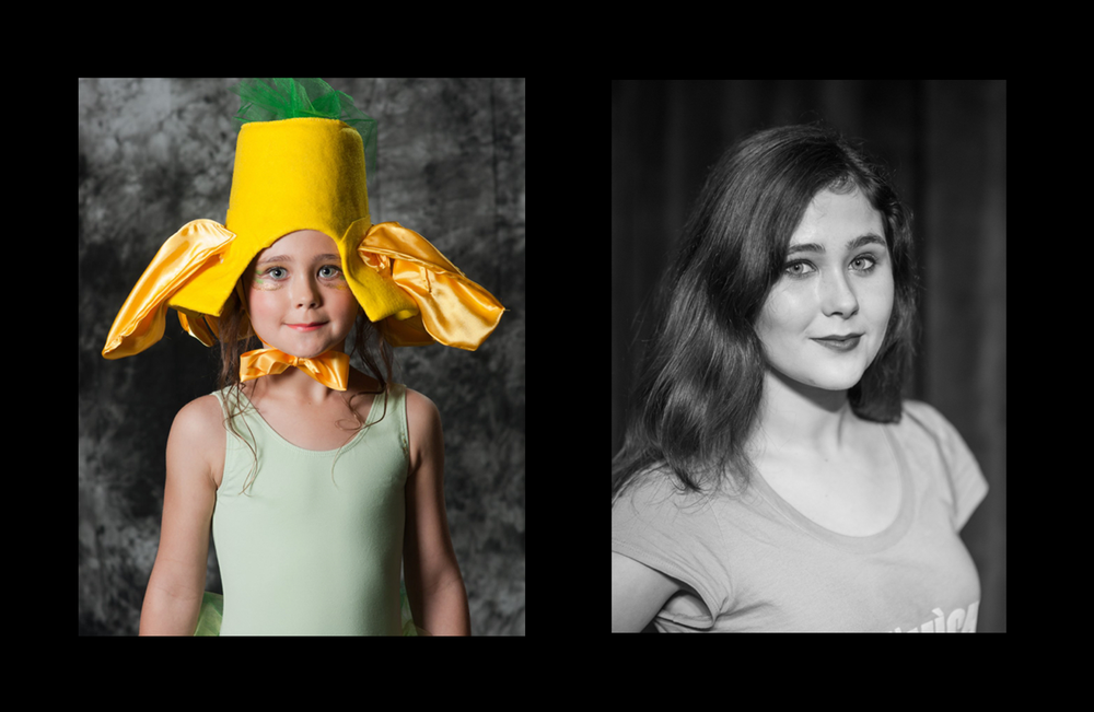 Calyx played another Buttercup in Theatre in the Mountain's 2010 production of Alice in Wonderland Jr. She returns as Alice in Wonderland High