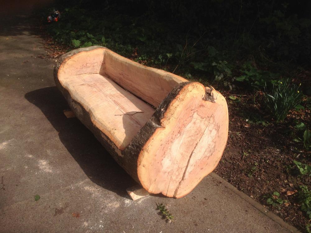 20140322 Bench making at Quex Museum, Kent (6).JPG