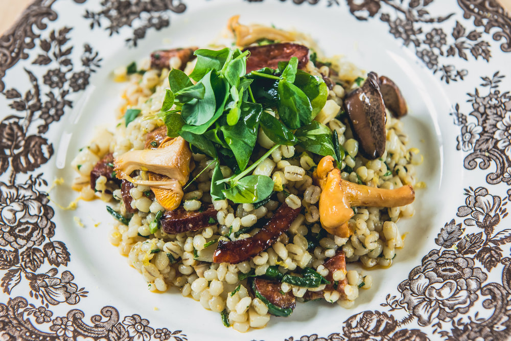Pearl Barley Risotto with Spoots (Razor clams), Scottish Chorizo & Mushrooms_8.jpg