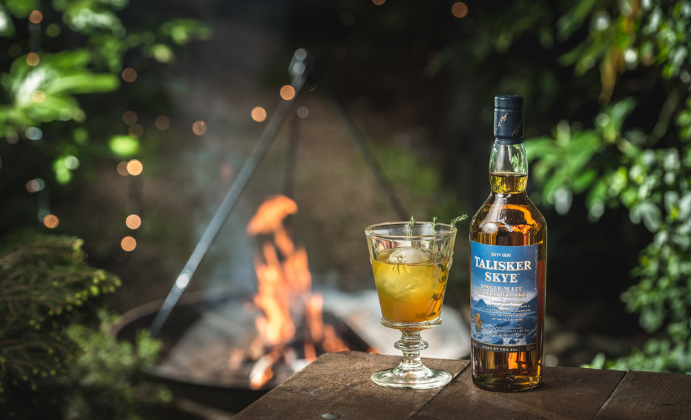 THE CAMPFIRE COCKTAIL EXPERIENCE WITH TALISKER