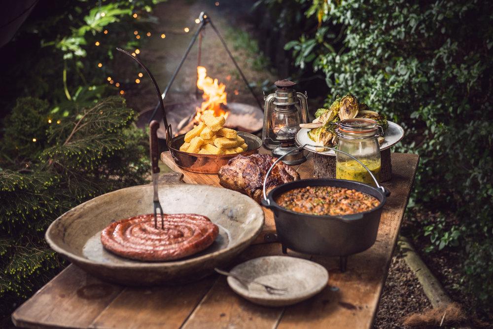 Pork Ribeye & Venison Cumberland Rosemary Polenta Chips, Campfire Beans, Chargrilled Baby Gem, Arran Mustard_38.jpg