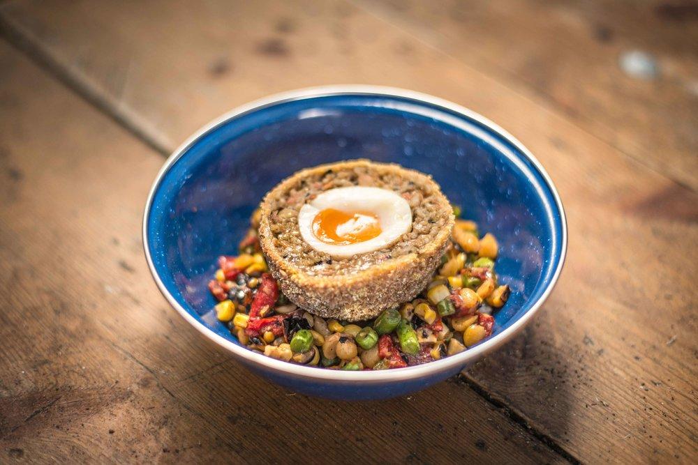Veggie-Haggis-Scotch-Egg-Spiced-Corn-Succotash,-Truffle,-Leek-Ash-_4.jpg