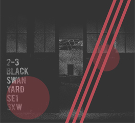 WHERE TO FIND US - In a 3,500 sq ft ex leather tannery warehouse down a cobbled lane off Bermondsey Street. A 5 minute walk from London Bridge Station.Black Swan Studios2-3 Black Swan YardLondon, SE1 3XW
