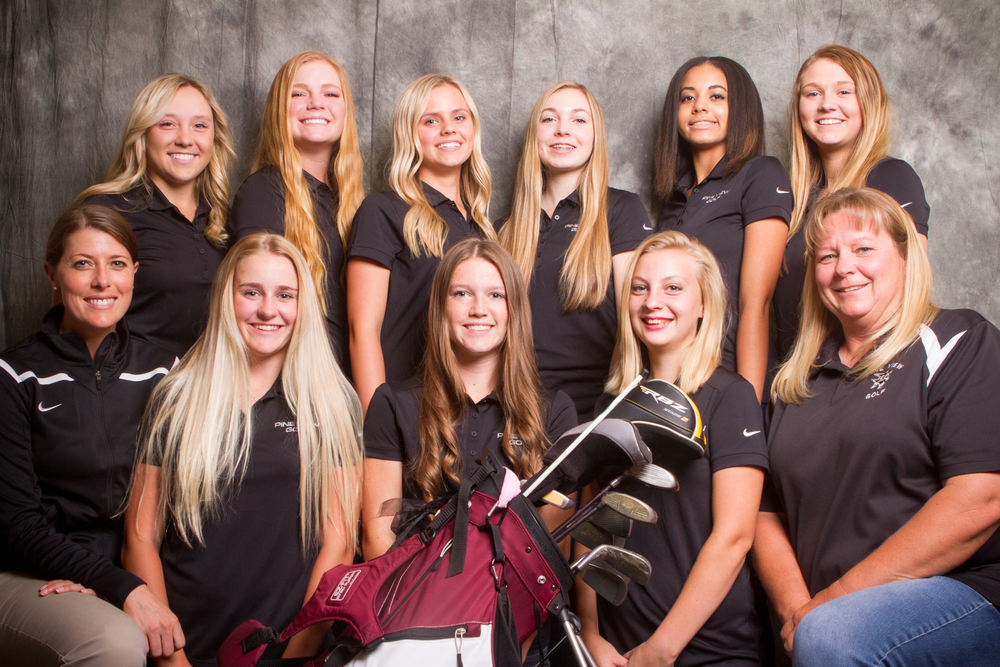 2016 Pine View Girls Golf Team