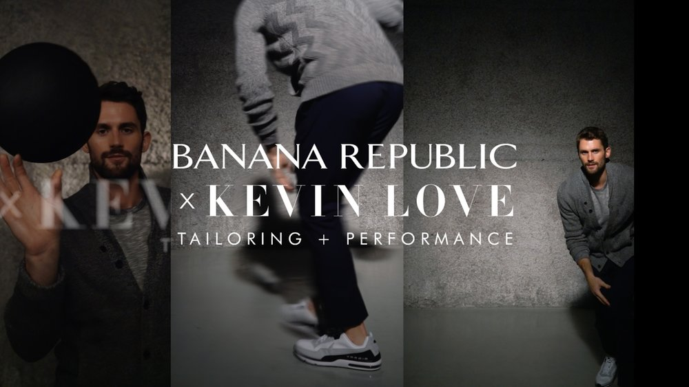 Banana Republic x Kevin Love -