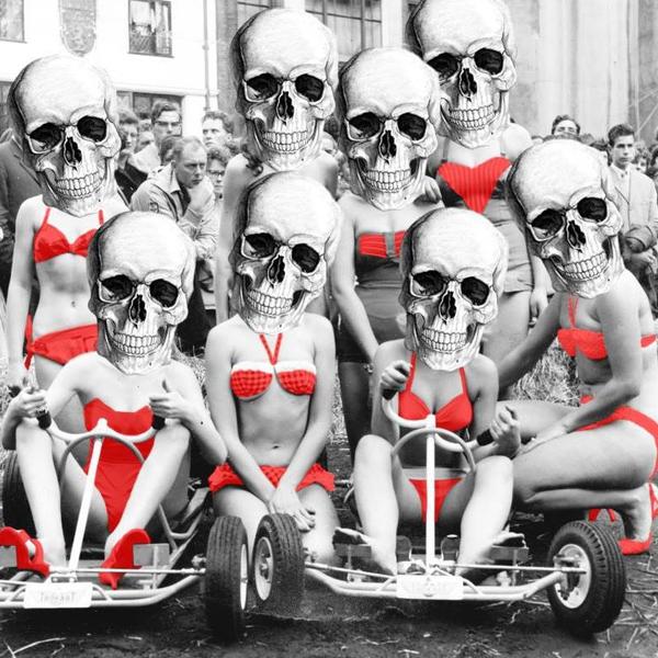 Bloody Death Skull- BUSKERFEST