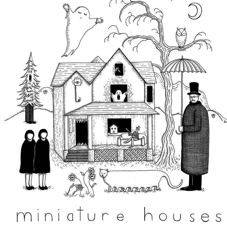 Miniature Houses  are comprised of singer-songwriters Michael Wysong, Lili De La Mora, and multi-instrumentalist Tai Tajima, from Long Beach, California. Mixing elements of folk and pop with delicate harmonies, melodica, bells, and acoustic guitar, their sound draws upon that pre-dawn feeling of melancholy and heartache.