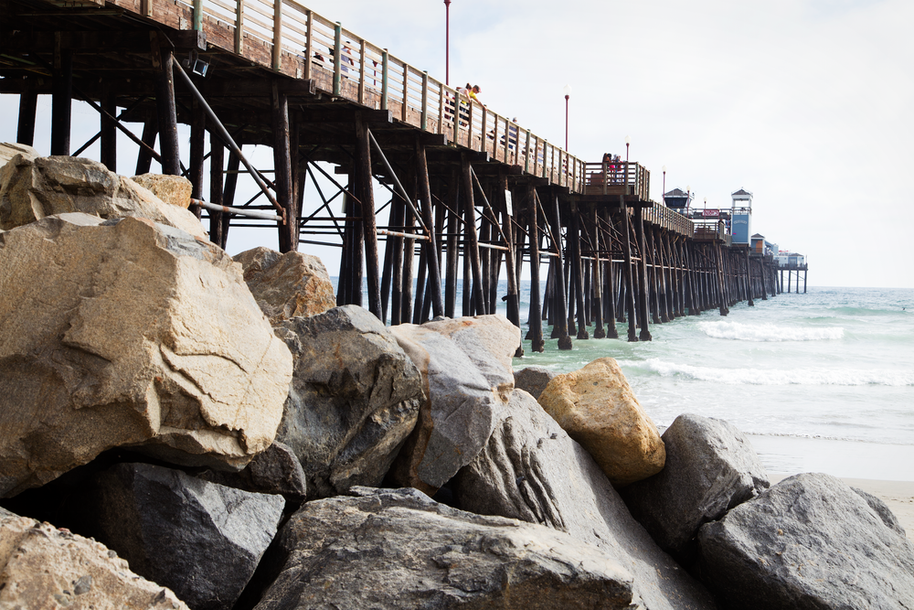 The Oceanside Pier - Eat at Ruby's if you make it all the way!
