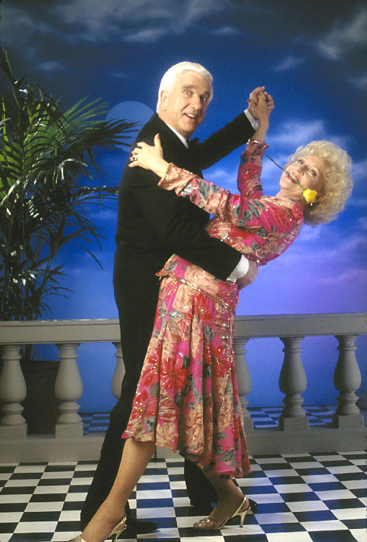 Leslie Nielsen and Betty White
