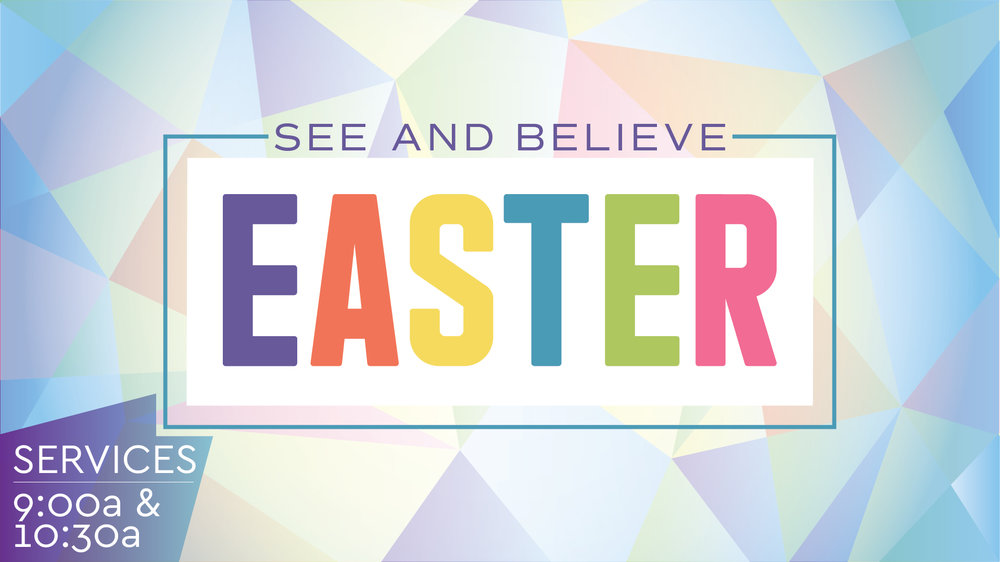 EASTER CELEBRATION SERVICE - April 21 @ 9a & 10:30a9a // Childcare provided: 6 months - 5 Years10:30 // Gate Kids: 6 months - 4th Grade