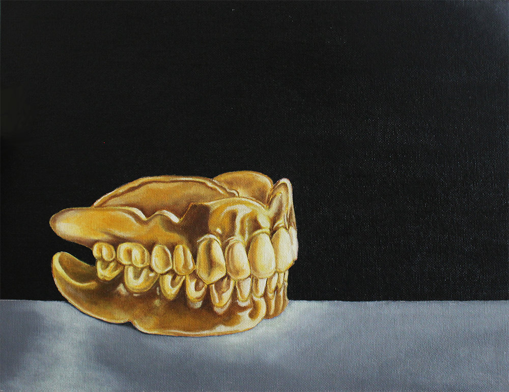 Dream Relic (Golden Years)  Oil on Canvas  2013
