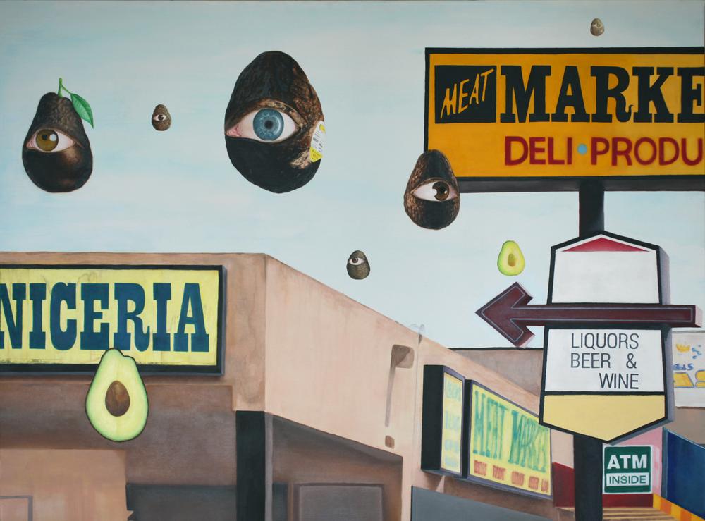 Dream Painting (La Vida Onirica)  Acrylic and Oil on Canvas  2017