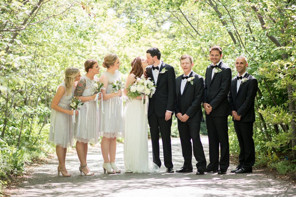 Salt Lake City wedding at Red Butte Garden. Park City based wedding photographer Trevor Hooper.