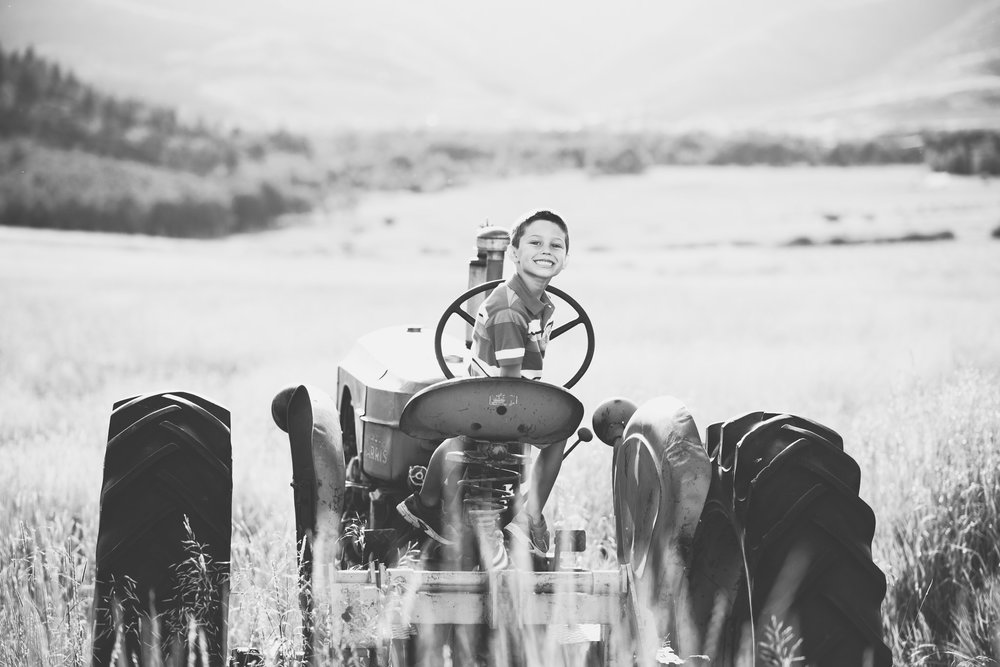 Park City Utah Family Portrait Photographer Trevor Hooper