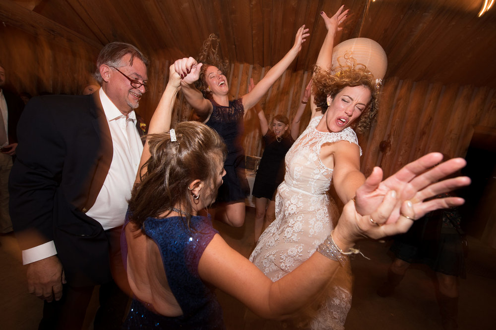 Dancing shot taken with 14-24mm lens and Nikon SB-800 speedlight with MagMod MagShpere. #partytime! :)