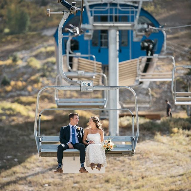 So excited to start editing Austin and Kim's wedding this week!! Solitude Mountain Resort is one hell of backdrop for a mountain wedding! 🤩🤘