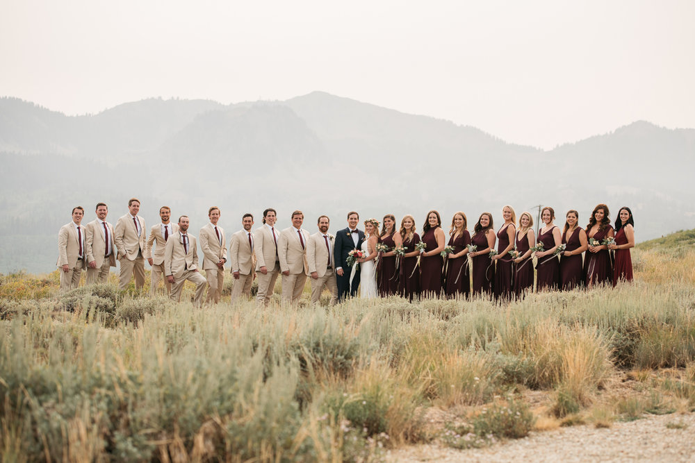 Church of Dirt, Park City Wedding photographed by wedding photographer Trevor Hooper Photo