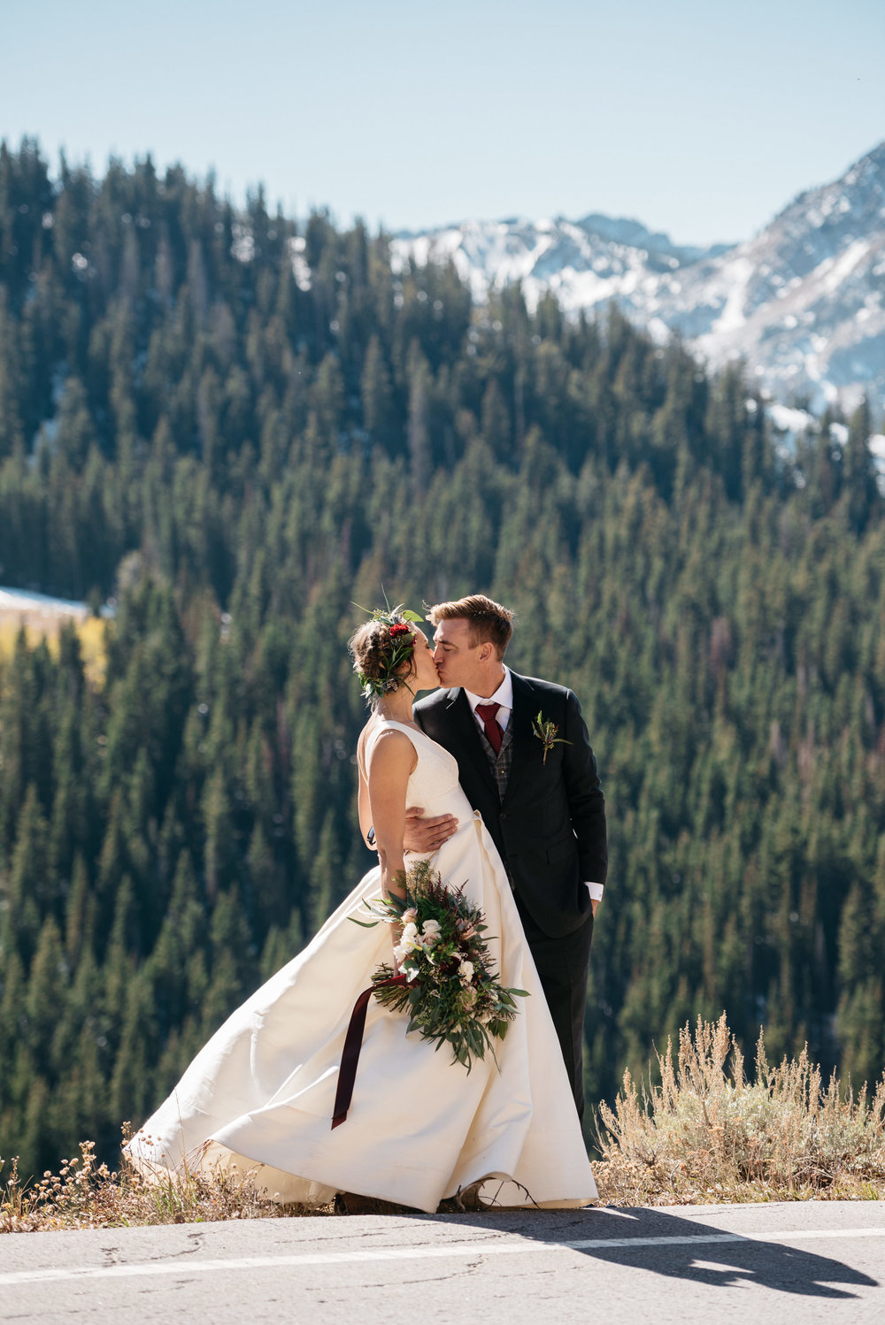 Church of Dirt, Solitude Mountain Resort Wedding photographed by wedding photographer Trevor Hooper Photo