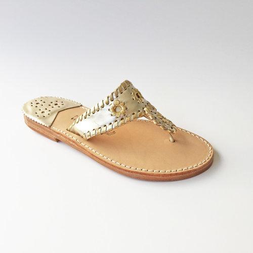 e8d480a738425f Palm Beach Sandals Classic Platinum Gold — Cruz n Shoes by ...