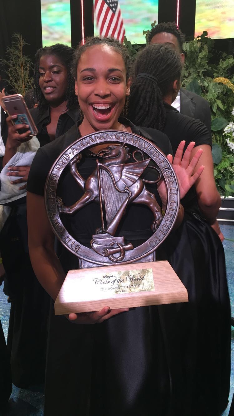 "by Adventist News Network  The Oakwood University elite choir, the Aeolians, took home three awards from the world's largest choir completion last week. At the Seventh World Choir Games, the Aeolians won the Championship Trophy in the ""Spiritual"" category, besting 15 other choirs for the honor.   ""The Aeolians … lifted our souls and the roof at the Cincinnati Masonic Center!"" reported an official Twitter release from the City of Cincinnati. The 42-member group also won one of several gold medals in two other categories: ""Music of Religions"" and ""Musica Contemporanea."" The international event was held in Cincinnati July 4 to 14. The Aeolians were the only Adventist group in the event.   ""The Aeolians rose to the challenge and on their debut at the World Choir Games … and made a great impact,"" said their director Jason Max Ferdinand. Earlier in the summer break from school, the group practiced new songs for the competition individually. They later held group rehearsals remotely using Google Plus. All 42 members met for a final rehearsal at the university campus the weekend before the competition.   The World Choir Games, sponsored by the Interkultur Foundation in Germany, is the world's largest choral competition and is held every two years. This year, more than 15,000 Choristers in 362 choirs competed in 23 musical categories. Interkultur's website says the goal of the event is to bring ""people of all nations, cultures and ideologies together in peaceful competitions and songs."" The next World Choir Games will be held in Riga, Latvia, in 2014.  - http://atoday.org/oakwood-university-aeolians-win-gold-in-the-world-choir-games/"