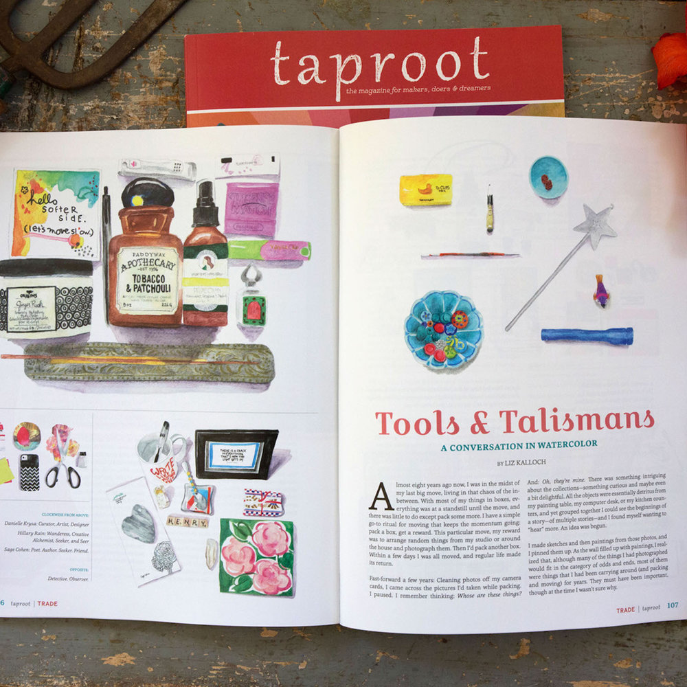 Tools & Talismans feature - in the TRADE issue • Autumn 2017